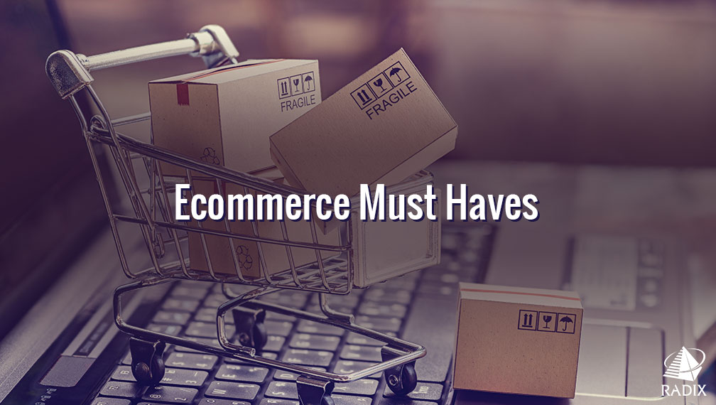 eCommerce web design must haves 2018